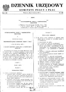 Dziennik Urzędowy Komitetu Pracy i Płac : 1967, nr 2