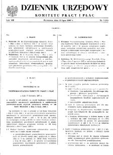 Dziennik Urzędowy Komitetu Pracy i Płac : 1967, nr 3