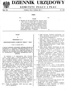 Dziennik Urzędowy Komitetu Pracy i Płac : 1967, nr 4