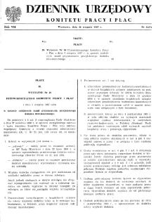 Dziennik Urzędowy Komitetu Pracy i Płac : 1967, nr 5