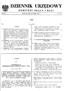 Dziennik Urzędowy Komitetu Pracy i Płac : 1967, nr 6