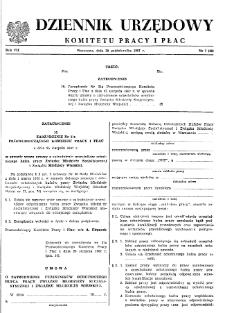 Dziennik Urzędowy Komitetu Pracy i Płac : 1967, nr 7
