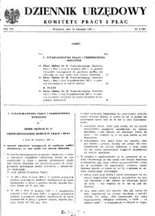 Dziennik Urzędowy Komitetu Pracy i Płac : 1967, nr 8