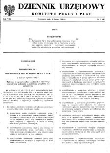 Dziennik Urzędowy Komitetu Pracy i Płac : 1968, nr 1