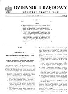 Dziennik Urzędowy Komitetu Pracy i Płac : 1968, nr 3