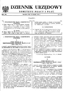 Dziennik Urzędowy Komitetu Pracy i Płac : 1968, nr 5