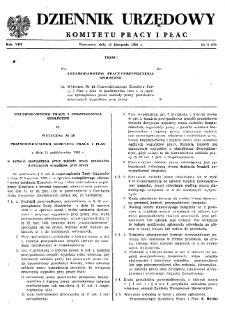 Dziennik Urzędowy Komitetu Pracy i Płac : 1968, nr 6