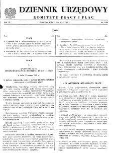 Dziennik Urzędowy Komitetu Pracy i Płac : 1969, nr 2