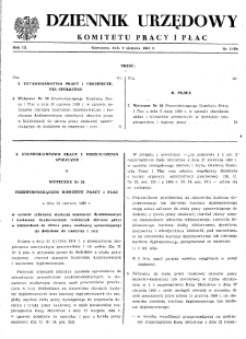 Dziennik Urzędowy Komitetu Pracy i Płac : 1969, nr 3