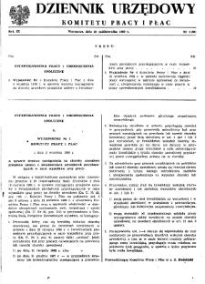Dziennik Urzędowy Komitetu Pracy i Płac : 1969, nr 4