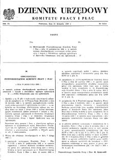 Dziennik Urzędowy Komitetu Pracy i Płac : 1969, nr 5