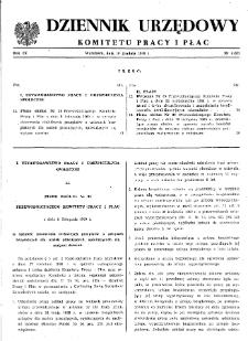 Dziennik Urzędowy Komitetu Pracy i Płac : 1969, nr 6