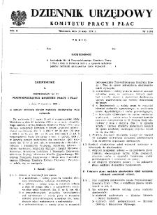 Dziennik Urzędowy Komitetu Pracy i Płac : 1970, nr 3
