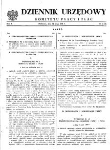 Dziennik Urzędowy Komitetu Pracy i Płac : 1970, nr 4