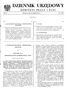 Dziennik Urzędowy Komitetu Pracy i Płac : 1970, nr 7