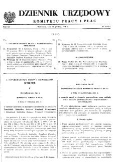 Dziennik Urzędowy Komitetu Pracy i Płac : 1971, nr 5