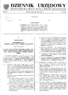 Dziennik Urzędowy Ministerstwa Pracy, Płac i Spraw Socjalnych : 1973, nr 2