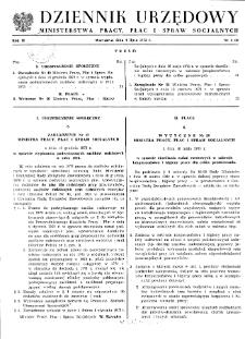 Dziennik Urzędowy Ministerstwa Pracy, Płac i Spraw Socjalnych : 1973, nr 4