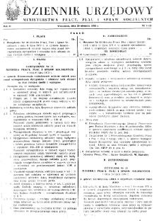 Dziennik Urzędowy Ministerstwa Pracy, Płac i Spraw Socjalnych : 1973, nr 5