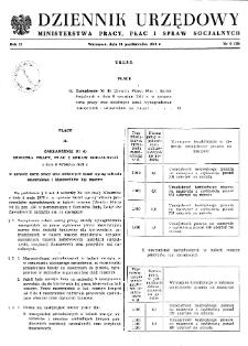 Dziennik Urzędowy Ministerstwa Pracy, Płac i Spraw Socjalnych : 1973, nr 6