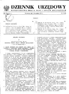 Dziennik Urzędowy Ministerstwa Pracy, Płac i Spraw Socjalnych : 1973, nr 8