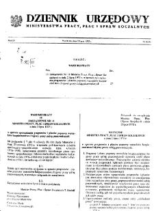 Dziennik Urzędowy Ministerstwa Pracy, Płac i Spraw Socjalnych : 1975, nr 8
