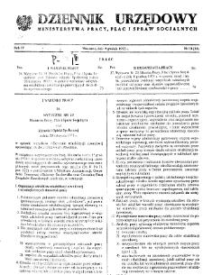 Dziennik Urzędowy Ministerstwa Pracy, Płac i Spraw Socjalnych : 1975, nr 10