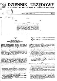 Dziennik Urzędowy Ministerstwa Pracy, Płac i Spraw Socjalnych : 1977, nr 3