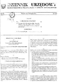 Dziennik Urzędowy Ministerstwa Pracy, Płac i Spraw Socjalnych : 1978, nr 9