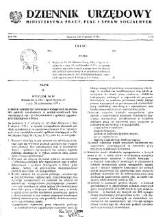 Dziennik Urzędowy Ministerstwa Pracy, Płac i Spraw Socjalnych : 1979, nr 7