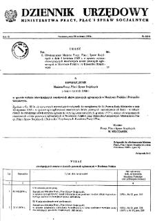 Dziennik Urzędowy Ministerstwa Pracy, Płac i Spraw Socjalnych : 1980, nr 5