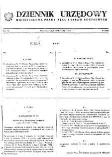 Dziennik Urzędowy Ministerstwa Pracy, Płac i Spraw Socjalnych : 1980, nr 8