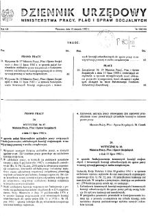 Dziennik Urzędowy Ministerstwa Pracy, Płac i Spraw Socjalnych : 1983, nr 10
