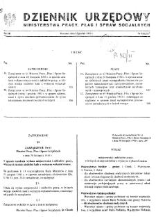 Dziennik Urzędowy Ministerstwa Pracy, Płac i Spraw Socjalnych : 1983, nr 15