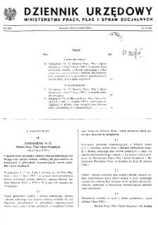 Dziennik Urzędowy Ministerstwa Pracy, Płac i Spraw Socjalnych : 1984, nr 7