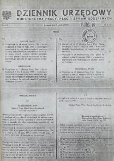 Dziennik Urzędowy Ministerstwa Pracy, Płac i Spraw Socjalnych : 1985, nr 5