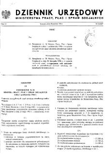 Dziennik Urzędowy Ministerstwa Pracy, Płac i Spraw Socjalnych : 1986, nr 6