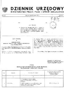 Dziennik Urzędowy Ministerstwa Pracy, Płac i Spraw Socjalnych : 1987, nr 2