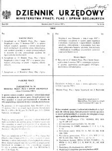 Dziennik Urzędowy Ministerstwa Pracy, Płac i Spraw Socjalnych : 1987, nr 3