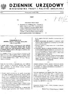 Dziennik Urzędowy Ministerstwa Pracy i Polityki Socjalnej : 1988, nr 3