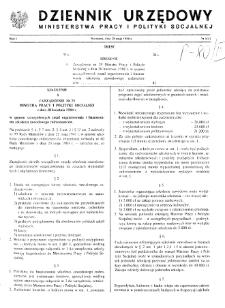 Dziennik Urzędowy Ministerstwa Pracy i Polityki Socjalnej : 1988, nr 5