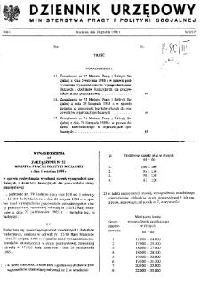 Dziennik Urzędowy Ministerstwa Pracy i Polityki Socjalnej : 1988, nr 9