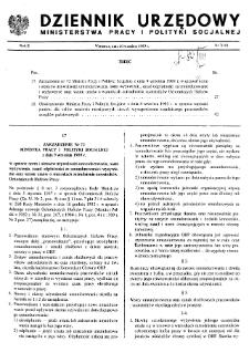 Dziennik Urzędowy Ministerstwa Pracy i Polityki Socjalnej : 1989, nr 7