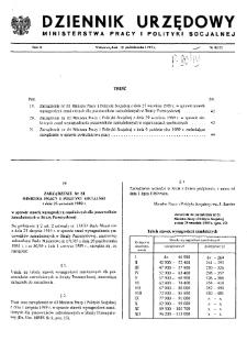 Dziennik Urzędowy Ministerstwa Pracy i Polityki Socjalnej : 1989, nr 8