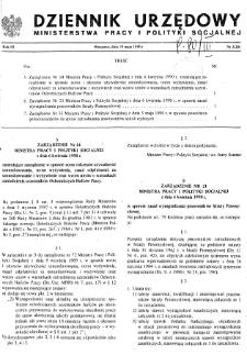 Dziennik Urzędowy Ministerstwa Pracy i Polityki Socjalnej : 1990, nr 2