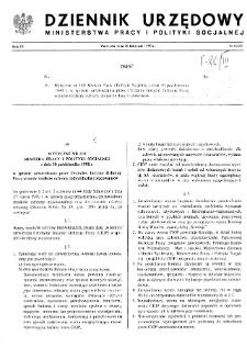 Dziennik Urzędowy Ministerstwa Pracy i Polityki Socjalnej : 1990, nr 6
