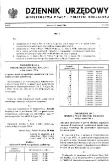 Dziennik Urzędowy Ministerstwa Pracy i Polityki Socjalnej : 1991, nr 2