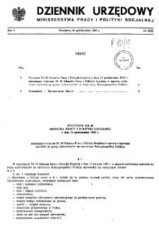 Dziennik Urzędowy Ministerstwa Pracy i Polityki Socjalnej : 1993, nr 5