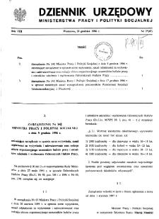 Dziennik Urzędowy Ministerstwa Pracy i Polityki Socjalnej : 1996, nr 2