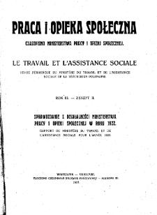 Praca i Opieka Społeczna : 1923, nr 2